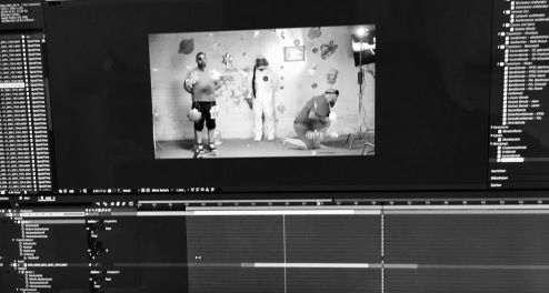 """Musikvideodreh """"Miep"""" für Kai Lüftner und Nina Dulleck"""