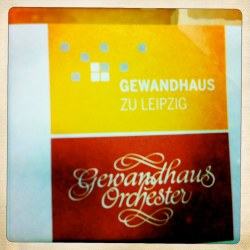 Doku-Dreh Gewandhaus zu Leipzig