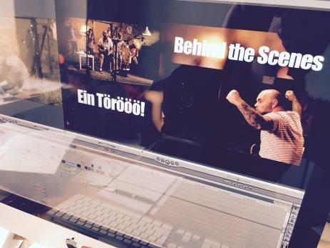 """Schnitt """"Ein Törööö!"""" (Behind the Scenes)"""